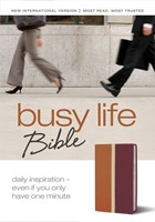 Busy Life Bible (Leather-Look)