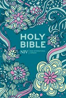 NIV Pocket Floral Hardback Bible (Hard Cover)