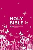 NIV Pocket Pink Soft-Tone Bible With Zip (Flexiback)