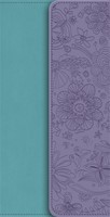 NIV Diary Turquoise / Purple Soft-Tone Bible With Clasp (Flexiback)