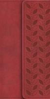 NIV Diary Cherry Soft-Tone Bible With Clasp (Flexiback)