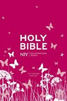 NIV Tiny Pink Soft-Tone Bible With Zip (Flexiback)