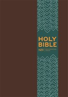 NIV Pocket Brown Imitation Leather Bible with clasp (Imitation Leather)