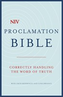 NIV Compact Proclamation Bible (Hard Cover)