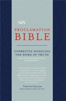 NIV Compact Proclamation Bible blue (Flexiback)