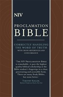 NIV Compact Proclamation Bible (Leather Binding)