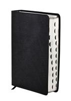 NIV Study Bible (Black Bonded Leather With Index) (Flexiback)