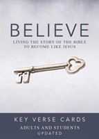 Believe Key Verse Cards: Adult/Student (General Merchandise)