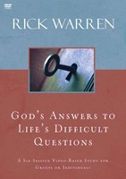 God's Answers To Life's Difficult Questions DVD