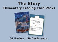 The Story Trading Cards Church Pack: For Elementary (General Merchandise)