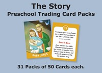 The Story Trading Cards Church Pack: For Preschool (General Merchandise)