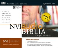 NVI Biblia Audio Mp3 Cd (MP3 CDs)