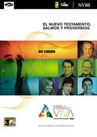 NVI Experiencia Viva, Nuevo Testamento Con Salmos Y Proverbi (CD-Audio)