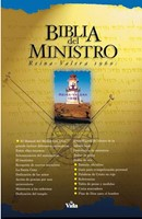 Biblia Del Ministro Rvr 1960 Con indice (Leather Binding)