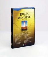 Biblia Del Ministro Rvr 1960 (Leather Binding)