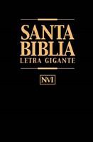NVI Santa Biblia Letra Gigante (Leather Binding)