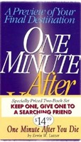 One Minute After You Die-Set Of Two