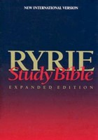 NIV Ryrie Study Bible Hardback- Red Letter Indexed (Hard Cover)