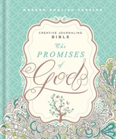 MEV Promises of God Creative Journaling Bible (Hard Cover)