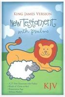 KJV Baby's New Testament, White Imitation Leather (Imitation Leather)