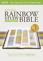 NIV Rainbow Study Bible, Jacketed Hardcover Indexed (Hard Cover)