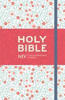 NIV Thinline Floral Cloth Bible