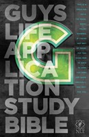 NLT Guys Life Application Study Bible (Hard Cover)