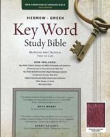 NASB Hebrew-Greek Key Word Study Bible GL Burgundy Indexed (Leather Binding)