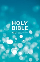 NIV Popular Blue Hardback Bible