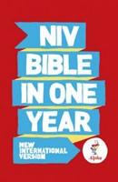 NIV Alpha Bible One Year Pb 10 Copy Pack (Paperback)