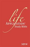 NIV Life Application Study Bible (Anglicised) Black (Flexiback)