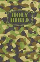 NKJV Camouflage Bible Green