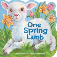 One Spring Lamb (Board Book)