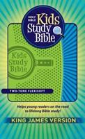 KJV Kids Study Bible, Green/Blue (Flexisoft)