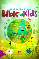 HCSB Illustrated Study Bible For Kids, Hardcover (Hard Cover)