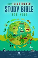 HCSB Illustrated Study Bible For Kids, Printed Hardcover (Hard Cover)