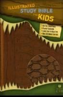 HCSB Illustrated Study Bible For Kids, Brown (Imitation Leather)