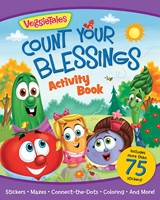 Veggietales Count Your Blessings Activity Book