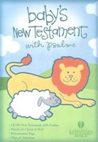 HCSB Baby's New Testament With Psalms, Light Blue Imitation (Imitation Leather)