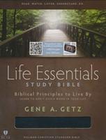 HCSB Life Essentials Study Bible, Black