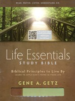 HCSB Life Essentials Study Bible Brown / Green