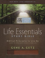 HCSB Life Essentials Study Bible, Brown Indexed