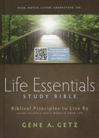 HCSB Life Essentials Study Bible Indexed