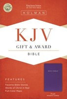 KJV Gift & Award Bible, Purple
