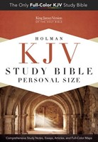 KJV Study Bible Personal Size, Hardcover
