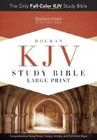 KJV Study Bible Large Print Edition, Hardcover (Hard Cover)