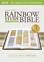 NIV Rainbow Study Bible, Jacketed Hardcover (Hard Cover)