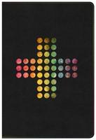 NIV Rainbow Study Bible, Pierced Cross Leathertouch (Imitation Leather)