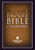 HCSB Pocket Bible Concordance (Paperback)
