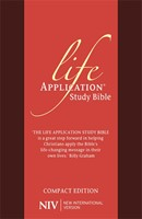 NIV Compact Life Application Study Bible (Anglicised)